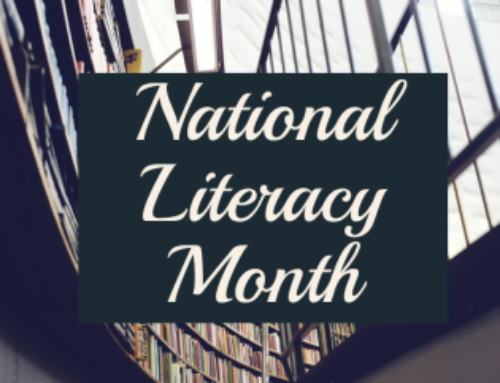5 Ways To Celebrate National Literacy Month!